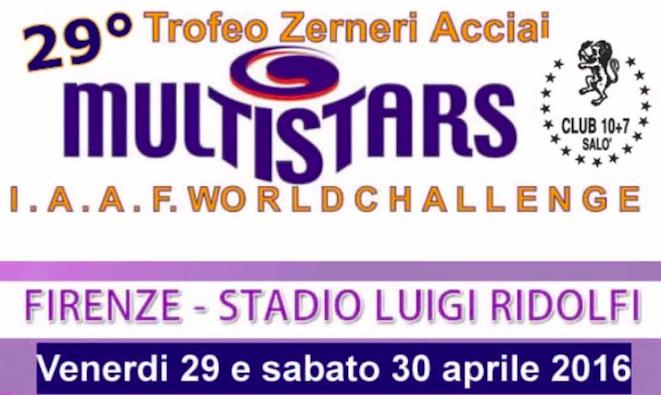 29 & 30 aprile, a Firenze lo spettacolo dell'atletica