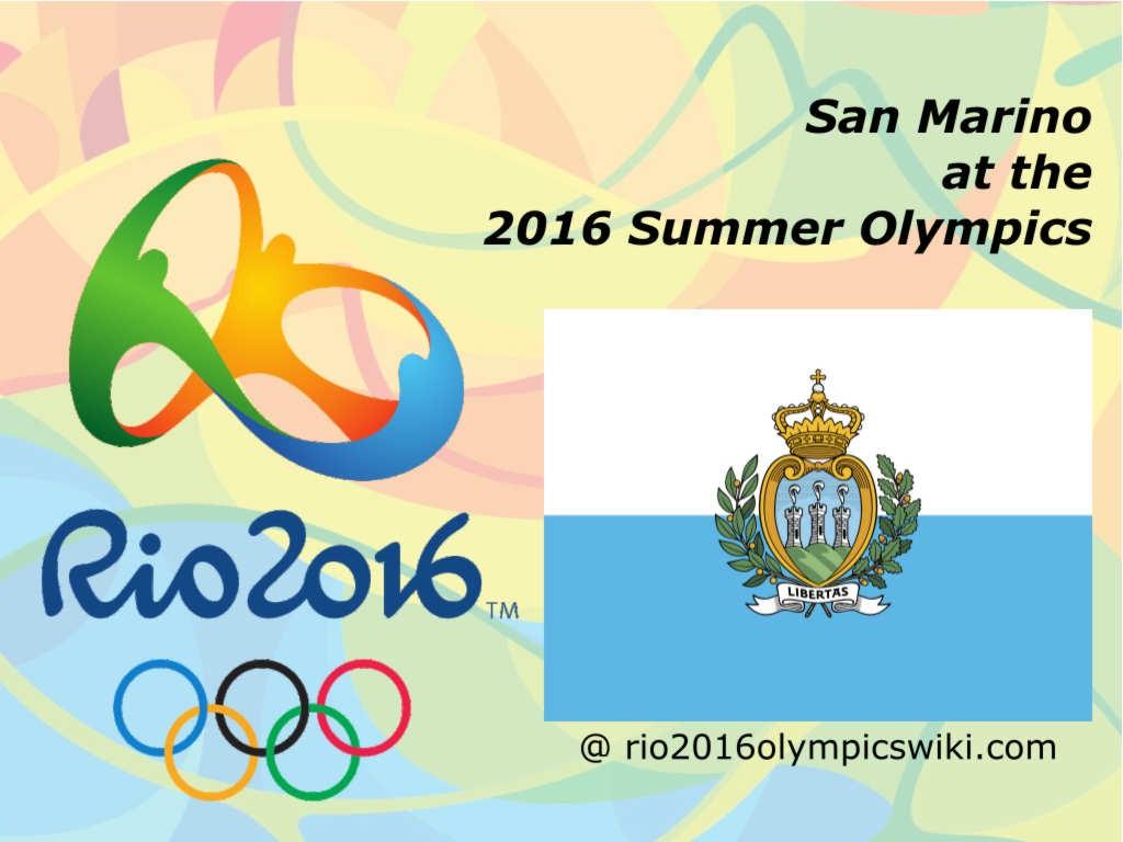 Olimpiadi di Rio 2016: La Repubblica di San Marino