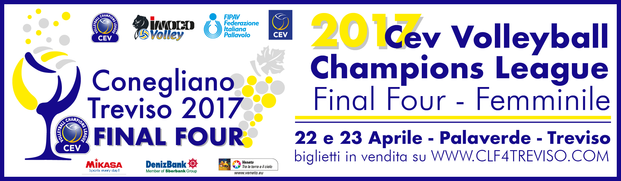 Final Four Champions League volley femminile 2017