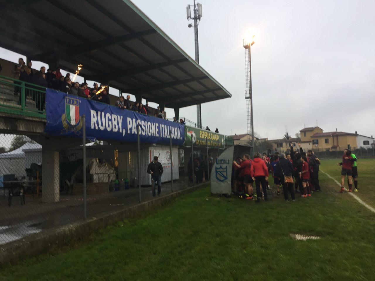 Le Puma Rugby alla prima vittoria in casa