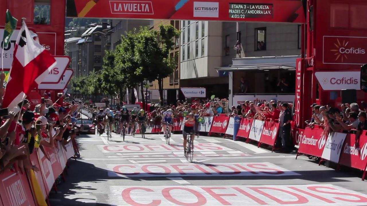 """I responsabili de """"La Vuelta"""" prevedono una tappa storica in Andorra"""