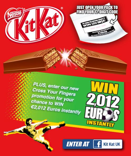 kit kat euro 2012